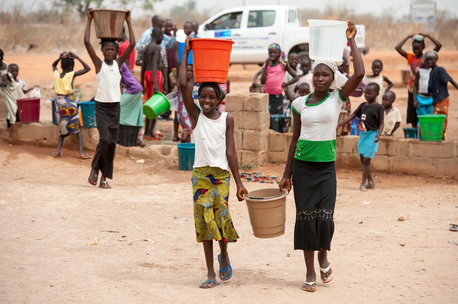 foto-výstava: nedostatek vody ve světě