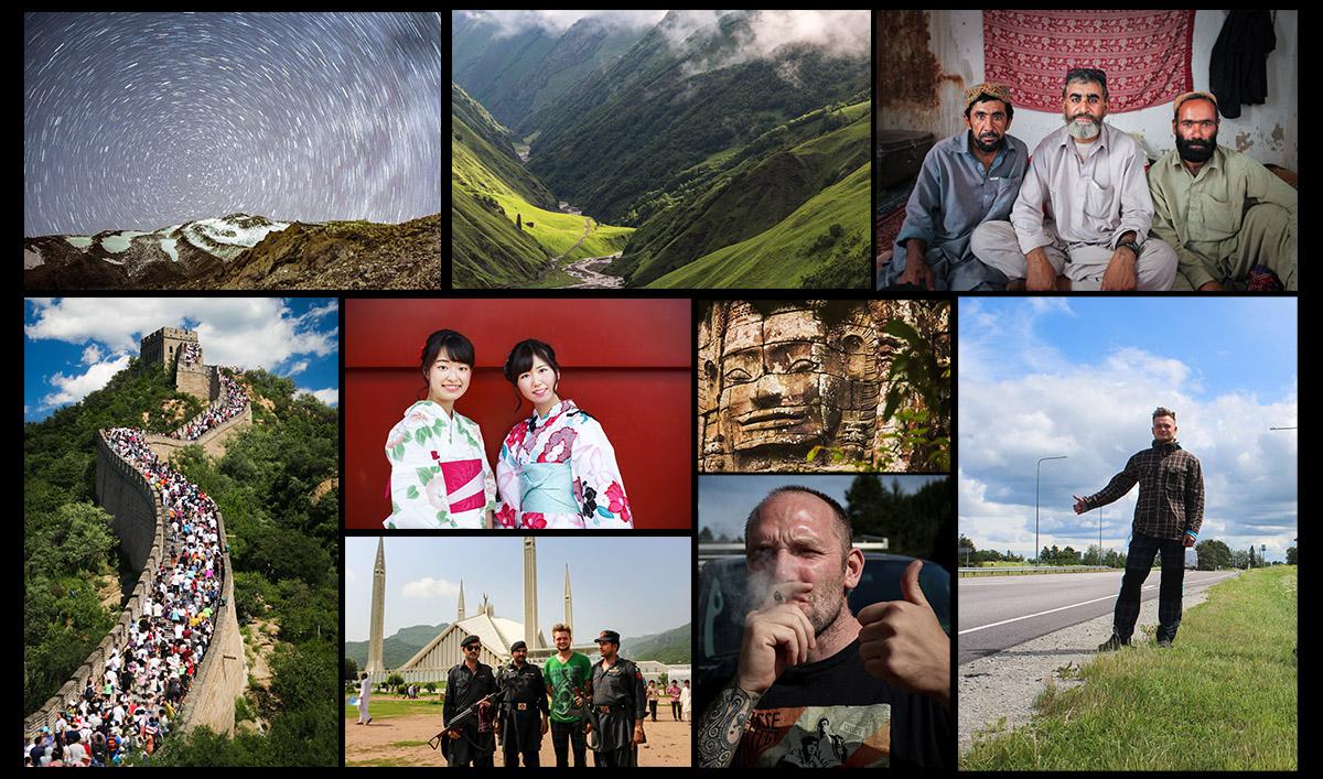 Cesta kolem světa za 100 dní //  Tony Danilov